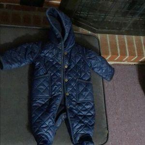 Ralph Lauren polo baby snow suit size 3 months